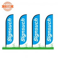 4KITS Custom 3.5M Feather Flags