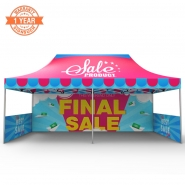 3X6M Custom Canopy with Printing
